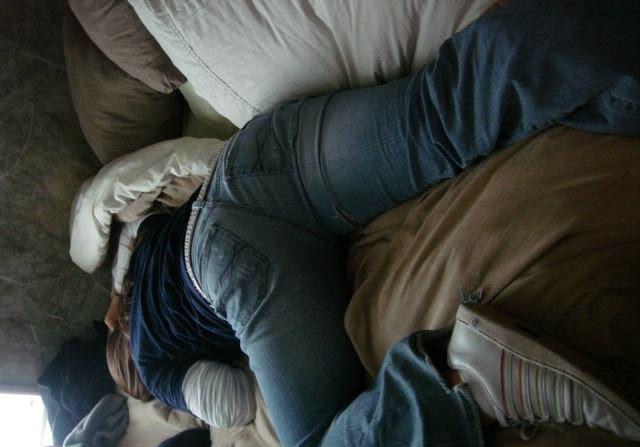 любительское фото спящих девушек